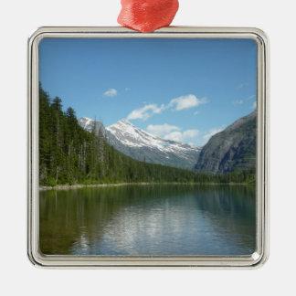 Avalanche Lake I in Glacier National Park Metal Ornament