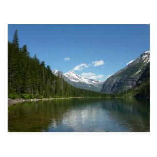 Avalanche Lake I in Glacier National Park Postcard
