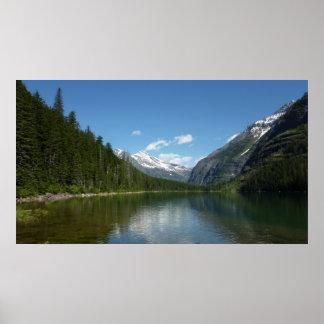 Avalanche Lake I in Glacier National Park Poster