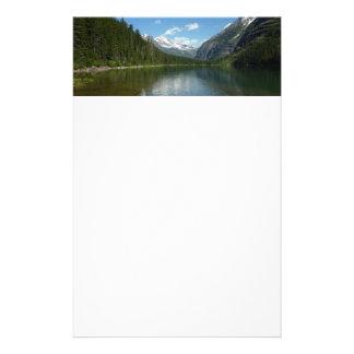 Avalanche Lake I in Glacier National Park Stationery