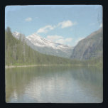 "Avalanche Lake I in Glacier National Park Stone Coaster<br><div class=""desc"">One of the treats of visiting national parks is seeing untouched wilderness like still glacier-fed lakes. Here&#39;s a nature scene of Avalanche Lake, fed by Sperry Glacier in Glacier National Park. Check out our store for more scenic landscapes from Glacier National Park. This photo is also featured as the widescreen...</div>"