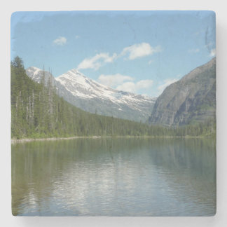 Avalanche Lake I in Glacier National Park Stone Coaster