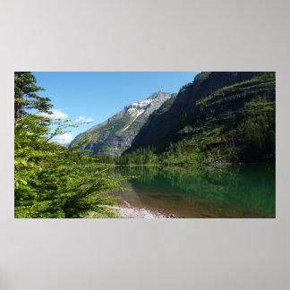 Avalanche Lake II in Glacier National Park Poster