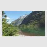 Avalanche Lake II in Glacier National Park Rectangular Sticker