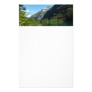 Avalanche Lake II in Glacier National Park Stationery