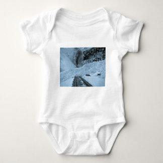 Avalanche Train Tracks Baby Bodysuit
