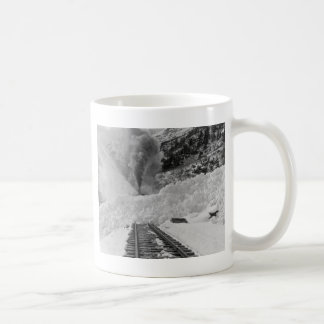 Avalanche Train Tracks Coffee Mug