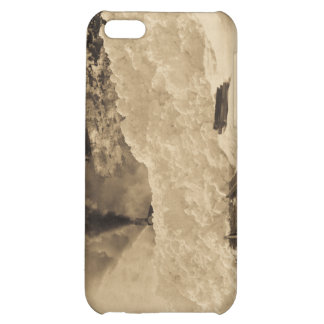 Avalanche Train Tracks Cover For iPhone 5C