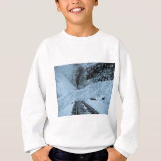 Avalanche Train Tracks Vintage Railroad Sweatshirt