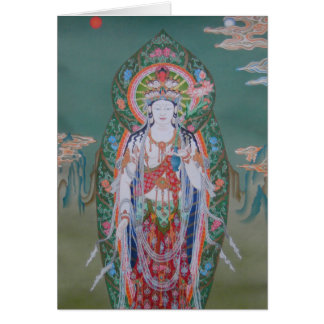 Avalokiteshvara Greeting Card
