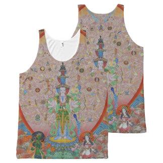 Avalokiteshvara Mil-Armado por todo el tanque de