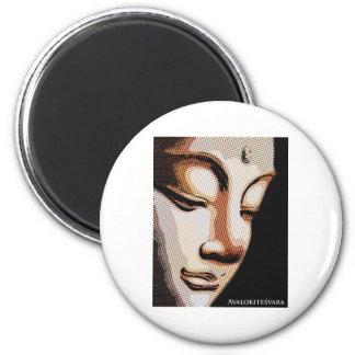 Avalokitesvara 2 Inch Round Magnet