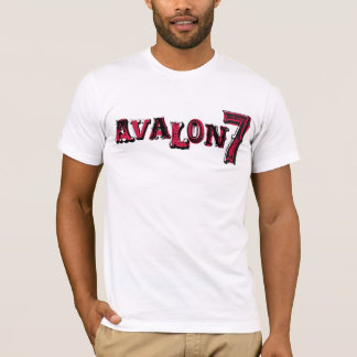 AVALON7 Blocktext by Tyrel Thornton T-Shirt