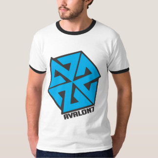 AVALON7 Inspiracon Blue and Black T Shirt