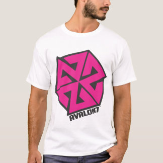AVALON7 Inspiracon Pink and Black T-Shirt
