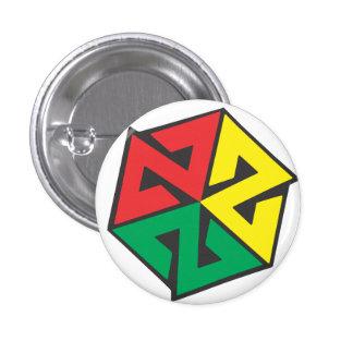 AVALON7 Inspiracon Rasta Pinback Button