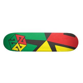 AVALON7 Inspiracon Rasta Skateboard