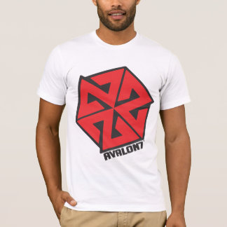 AVALON7 Inspiracon Red and Black T-Shirt