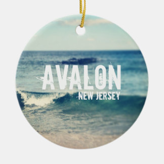 Avalon - 2013 - recuperación en la orilla del adorno redondo de cerámica