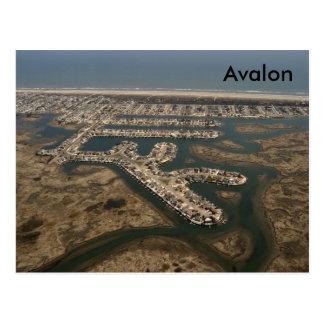 Avalon Aerial Postcard