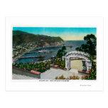 Avalon Bay from Wrigley's Gardens Postcard