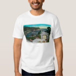 Avalon Bay from Wrigley's Gardens Tee Shirt