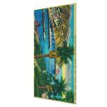 Avalon Bay, Santa Catalina Island from Skyline Gallery Wrap Canvas