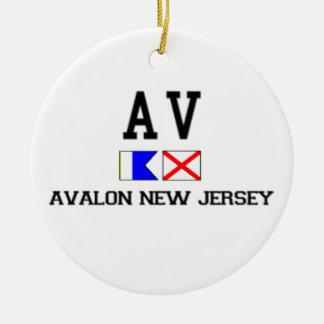 Avalon. Ceramic Ornament