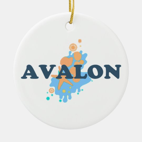 Avalon. Ceramic Ornament