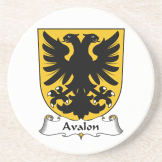 Avalon Family Crest Drink Coasters