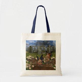 Avalon Guardian Fairys by Moonlake Canvas Bags