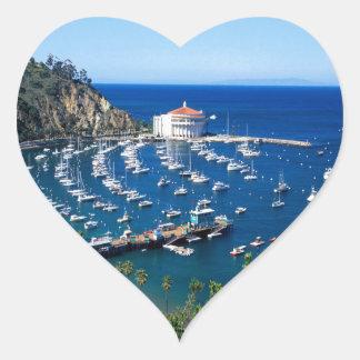 Avalon Harbor Catalina Stickers
