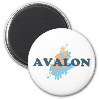 Avalon. Imanes De Nevera