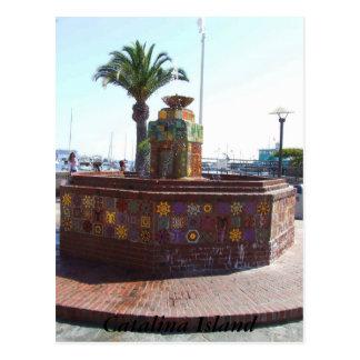 Avalon isla de Catalina California Postales
