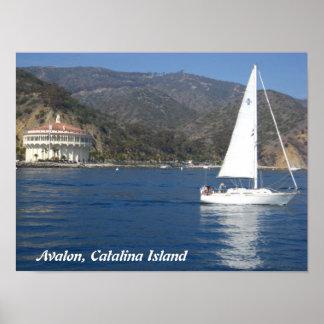 Avalon, isla de Catalina Póster
