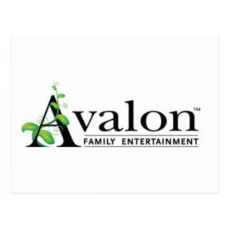 Avalon Logo Postcard