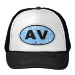 Avalon. Mesh Hats