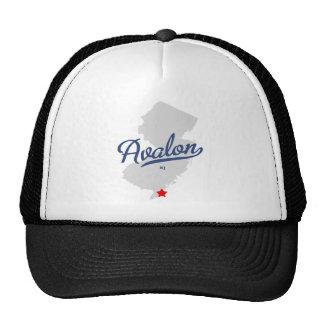 Avalon New Jersey NJ Shirt Trucker Hat