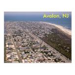 Avalon, NJ Tarjeta Postal