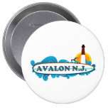 Avalon. Pinback Button