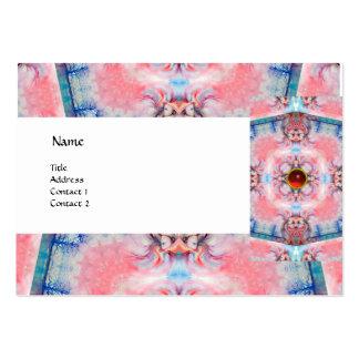 AVALON PSICODÉLICO, rubí azul púrpura rosado de la Tarjetas De Visita Grandes