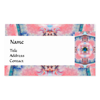 AVALON PSYCHEDELIC MONOGRAM blue Business Card