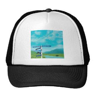 Avalon Signpost Trucker Hats