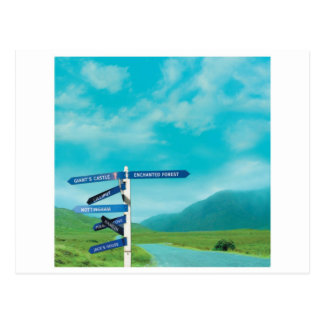 Avalon Signpost Postcard