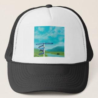 Avalon Signpost Trucker Hat