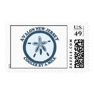 Avalon. Stamp