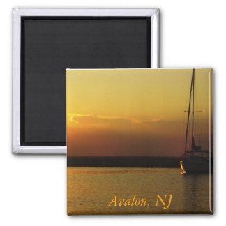 Avalon Sunset Magnet