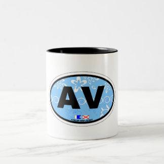 Avalon. Two-Tone Coffee Mug