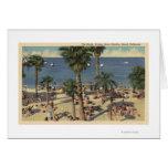 Avalon View of Beach w/ Sunbathers Cards