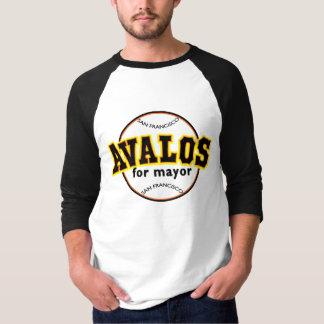 Avalos for Mayor - Basball Shirt (3/4 sleeves)